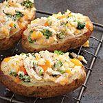 Twice-Baked Potatoes Four Ways Recipe   MyRecipes.com