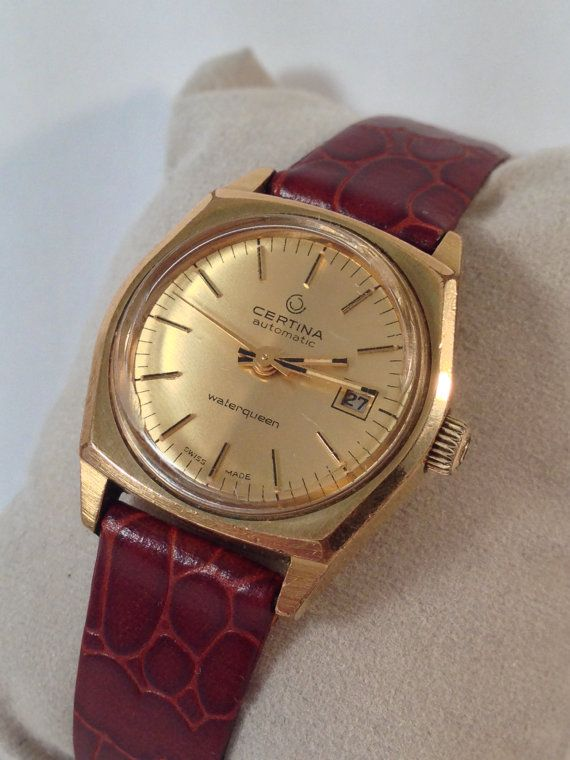 Vintage Certina Waterqueen Old Automatic by StonebrookVintage