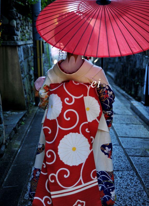 """Obi with kiku design - """"Kiku"""" is the Japanese word for """"chrysanthemum""""."""
