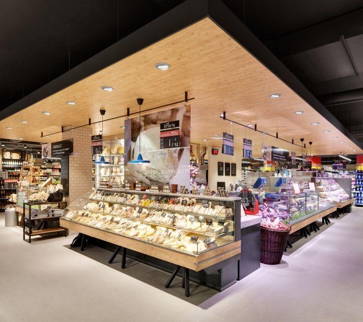 Carrefour Gourmet Market by Interstore Design and Schweitzerproject, Milan – Italy » Retail Design Blog