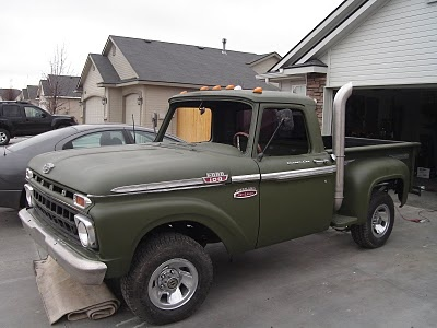1965 Ford F100 4x4  1965 Ford F100 ...