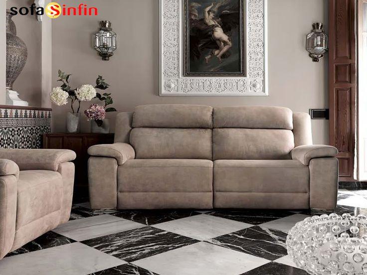 SOFASSINFIN  #decoración Sofá moderno Acomodel Blus. Mas info en http://sofassinfin.es/sofas-modernos.html