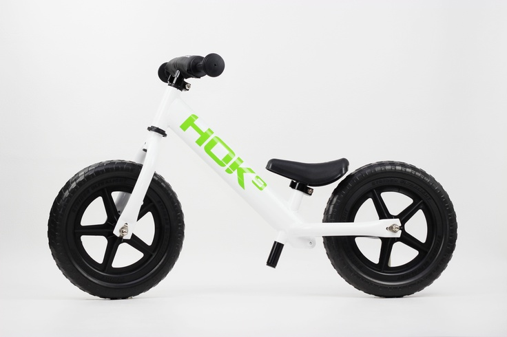 One of a kind Flat White HOK9 Strider Balance Bike