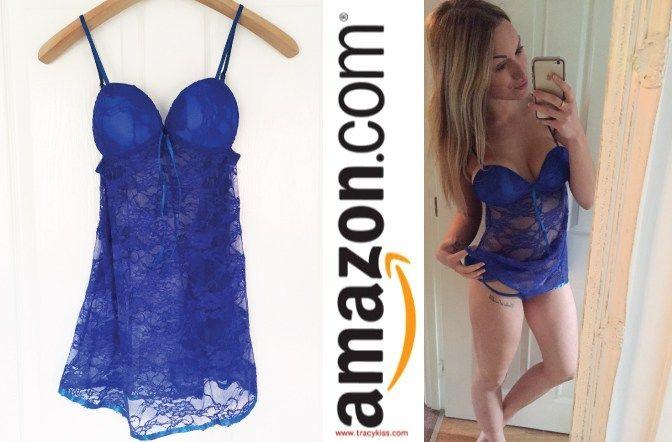Amazon Wishlist Blue Lace Negligee