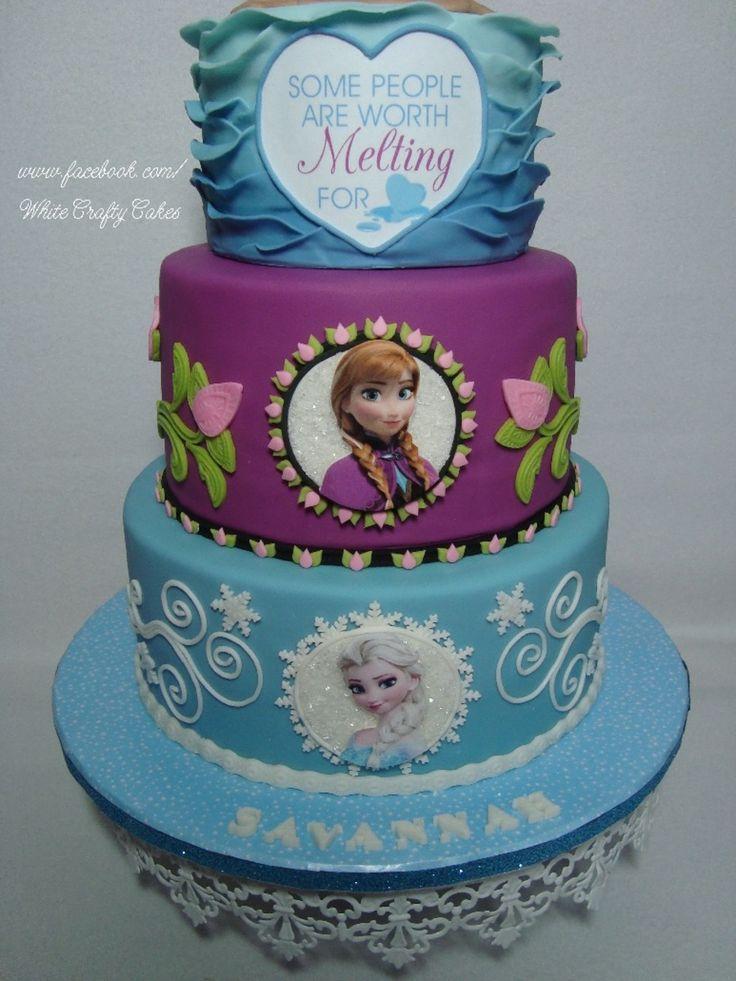 Frozen Cartoon Birthday Cake Image Inspiration of Cake and