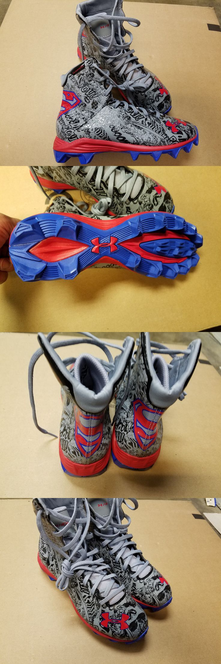 Youth 159118: Under Armour Alter Ego Superman Highlight Mc Clutchfit Football Cleats Youth 5.5 -> BUY IT NOW ONLY: $79.99 on eBay!