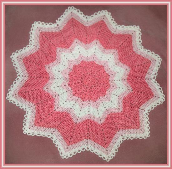 Striking Star Afghan--FREE Pattern
