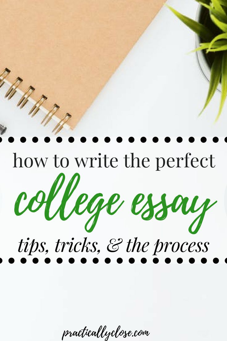 how can i write an essay for college Your essay can give admission officers a sense of who you are, as well as showcasing your writing skills try these tips to craft your college application essay.