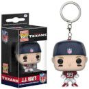 Pop! Keychain NFL J.J. Watt Pocket Pop! Vinyl Key Chain 10241 Take your favorite athlete with you wherever you go! This NFL J.J. Watt Pocket Pop! Vinyl Key Chain features the star defensive lineman of the Houston Texans as an adorable key chain! Key Chain measur http://www.MightGet.com/january-2017-11/pop!-keychain-nfl-j-j-watt-pocket-pop!-vinyl-key-chain-10241.asp