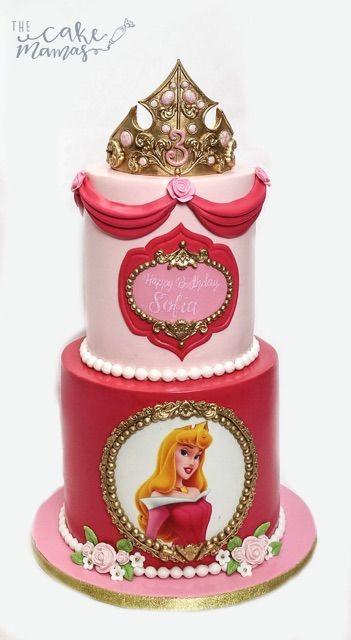 The 25 best Aurora cake ideas on Pinterest Sleeping beauty cake