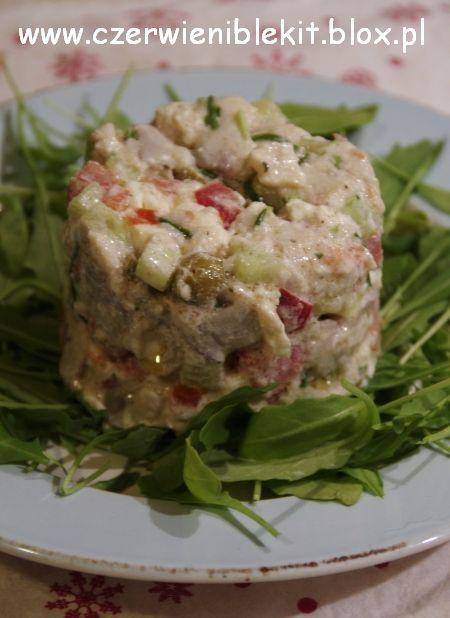 grecka salatka sledziowa