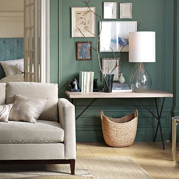 I want a small work desk like this west elm one but much cheaper. Really simple and basic for designing on.