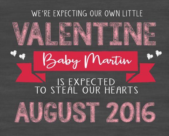 Valentineu0027s Day Pregnancy Announcement Ideas