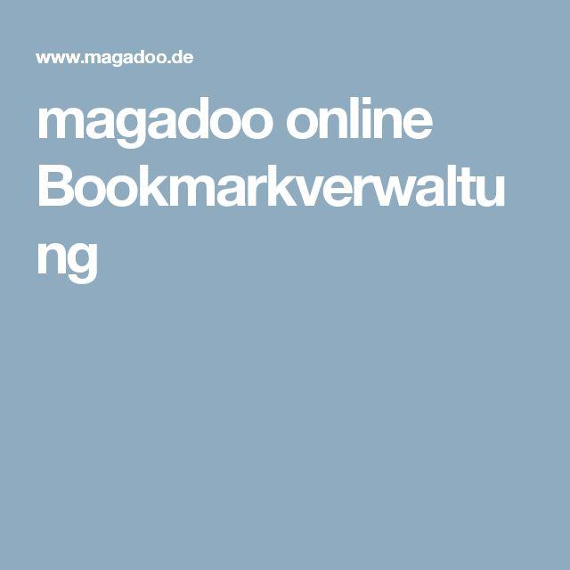 magadoo online Bookmarkverwaltung