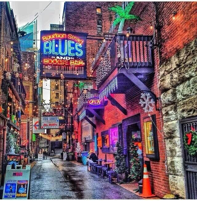 Printers Alley, Nashville, Tennessee