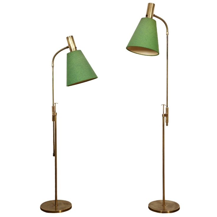 Pair Of Unusual Reading Lamps By Belysning , Sweden, 1950's