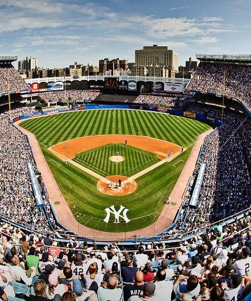 Yankee Stadium - - 10 Things to do in New York City this summer http://www.augustuscollection.com/10-things-new-york-city-summer/