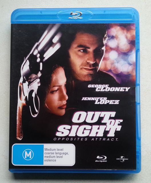 'OUT OF SIGHT' starrring George Clooney and Jennifer Lopez - $A15+postage (free domestic) - www.brookysbazaar.com/video.html#other enquiry@brookysbazaar.com @PayPal #bluray #film #Secondhand #shopping pic.twitter.com/bMsMmLFN6B