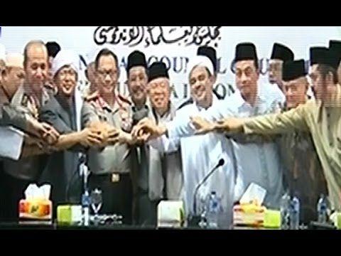Live : Kesepakatan KAPOLRI, MUI & Ketua GNPF Habib Rizieq Untuk AKSI 212...