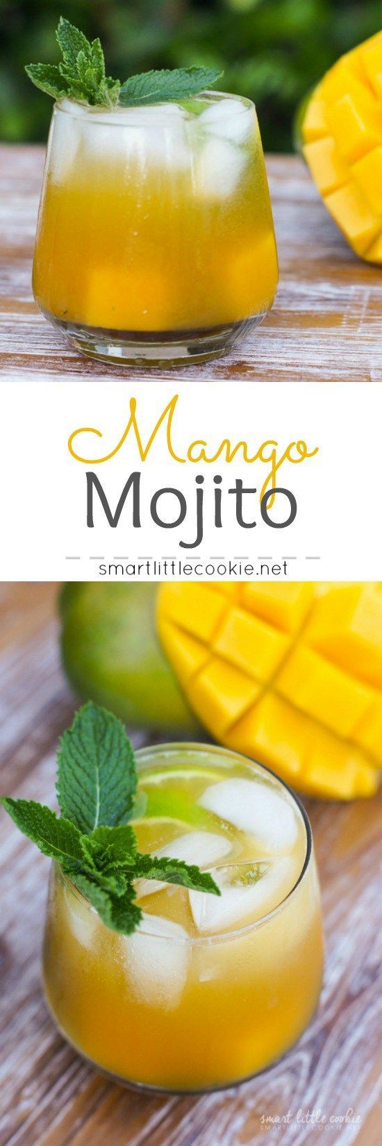 Get the flavors of the tropics with this Mango Mojito. Made with rum, mint…