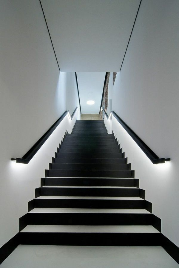 Lighting Basement Washroom Stairs: Best 10+ Stairway Lighting Ideas On Pinterest