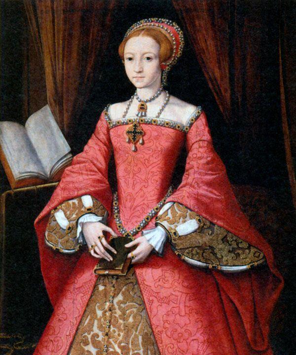 Принцесса Елизавета. Художник В. Скротс. 1546 г.