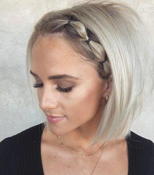 Einfache Frisuren für kurzes Haar