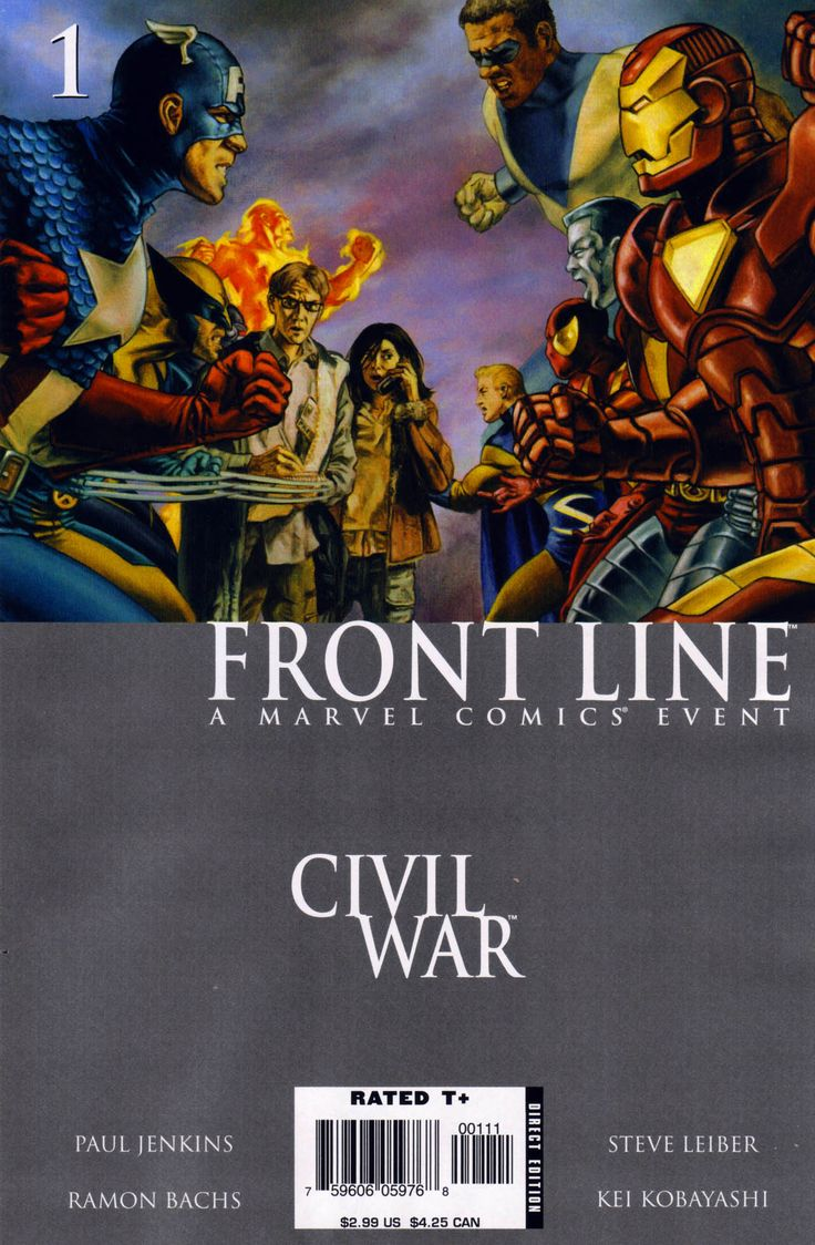 Civil War: Front Line Issue #1 - Read Civil War: Front Line Issue #1 comic online in high quality
