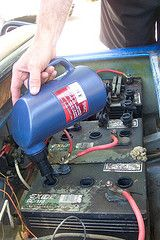 Golf Cart Batteries - Charging, Corrosion and Additives