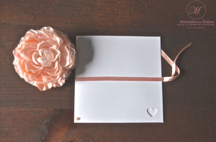 #slubne #zaproszenia #elegant #white #pink #wedding #cards #manufakturaslubna #sluby #invitations