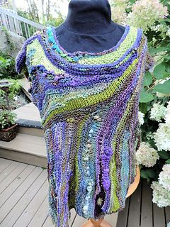 This design is part of the 2015 Inspired Knitters Art to Wear Club