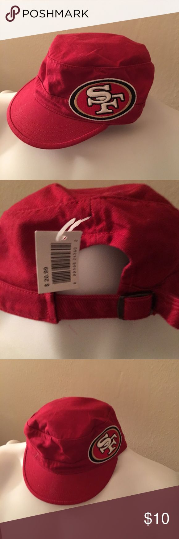 NFL San Francisco 49ers hat NWT football season is just around the corner get it while you at a good price🏈🏈🏈 San Francisco 49ers NFL Accessories Hats
