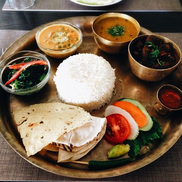A Typical Nepalese Cuisine