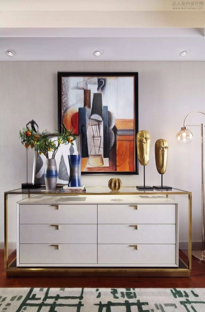 Beverly Foyer Mirror : Modern entryway decor an original sideboard design for a
