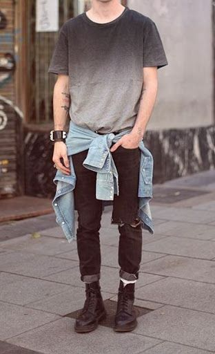 grunge style                                                                                                                                                                                 More
