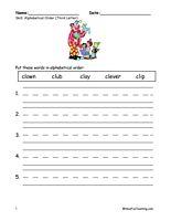 Teacher Worksheets Abc Order on abc teacher objectives, second grade adverb worksheets, abc teacher charts, first grade worksheets, abc teacher books, election day worksheets, abc teacher ideas,