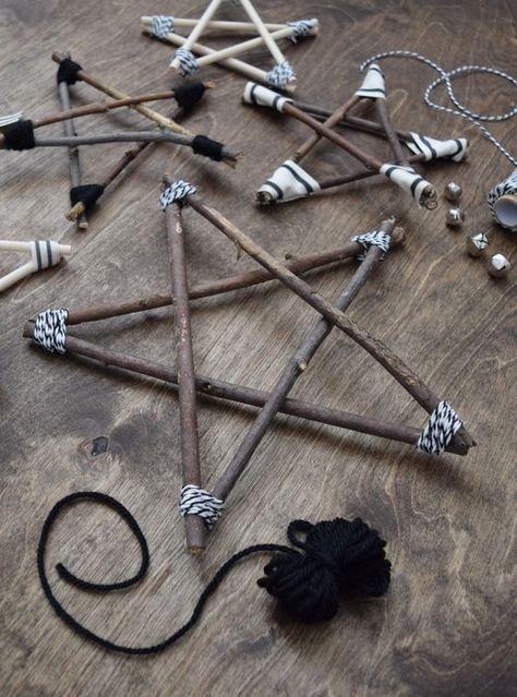 DIY Zweig Stern Ornamente – Dekorationen – Northstory