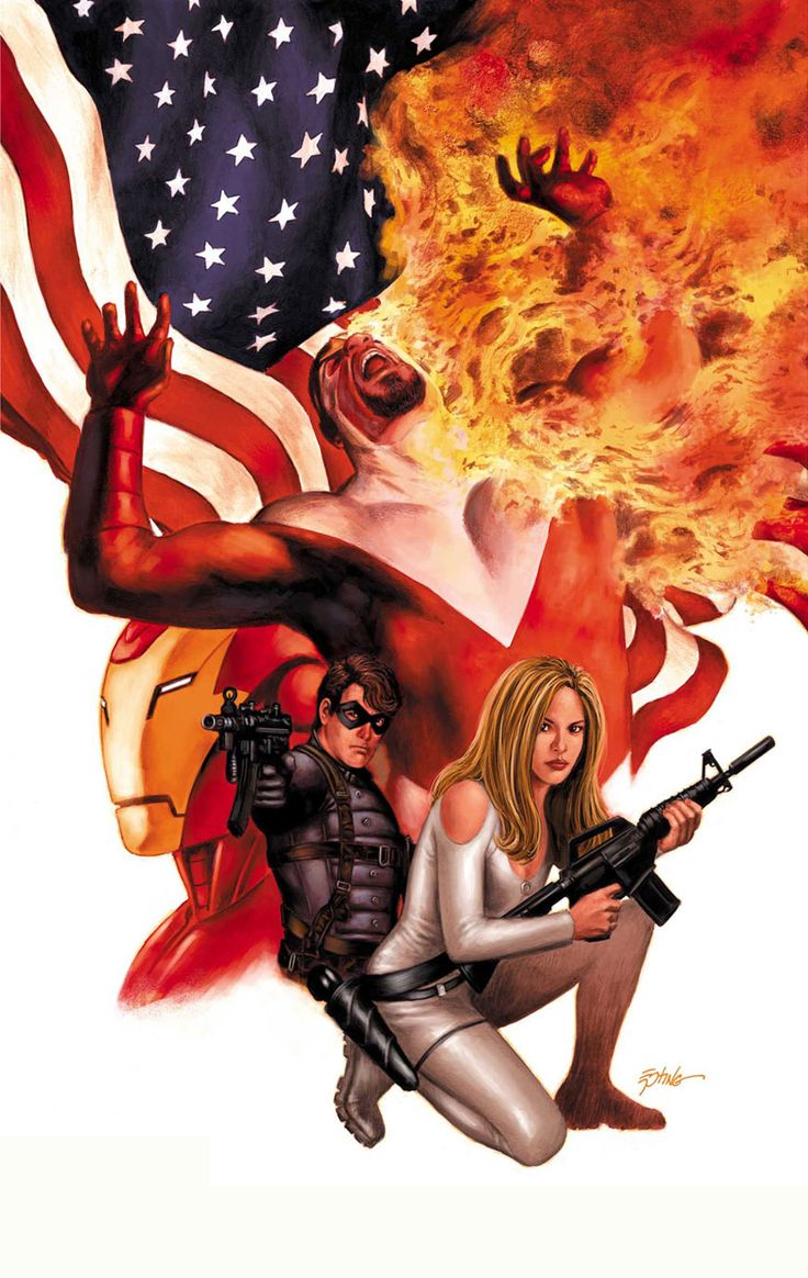 Falcon, Sharon Carter, Winter Soldier, Iron Man by Steve ...