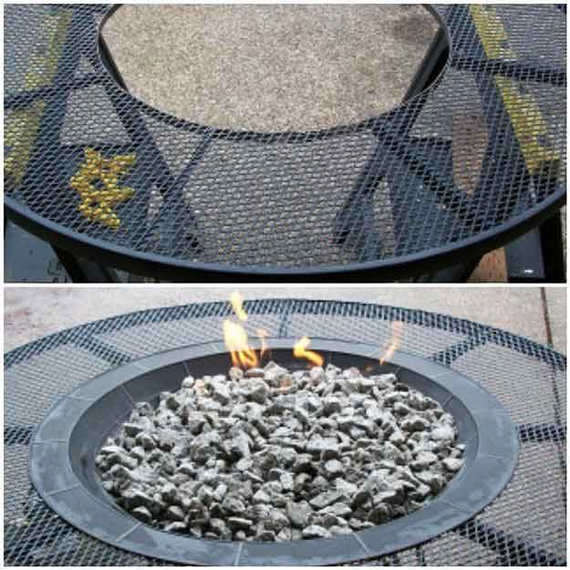 Gas Fire Pit Table | 27 Hottest Fire Pit Ideas and Designs