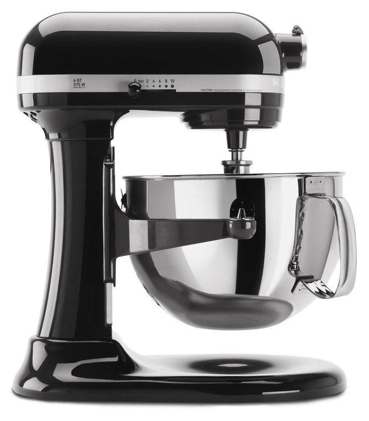 NEW/Sealed KitchenAid Pro 600 6 Quart Stand Mixer -KP26M1X,575 watts,Onyx Black #KitchenAid