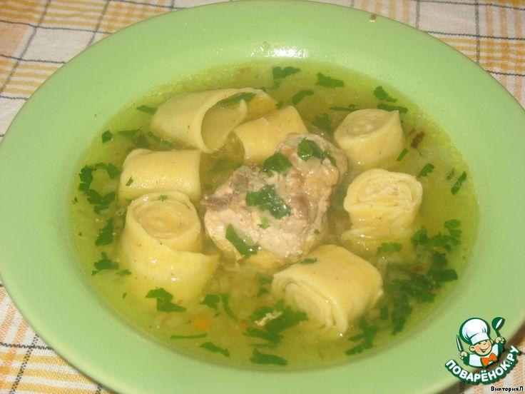 Суп куриный с рулетиками ингредиенты