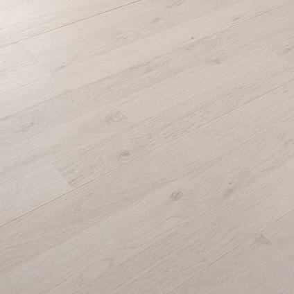 Baseline laminaat wit polar eiken   €3,99 per m2 van Praxis