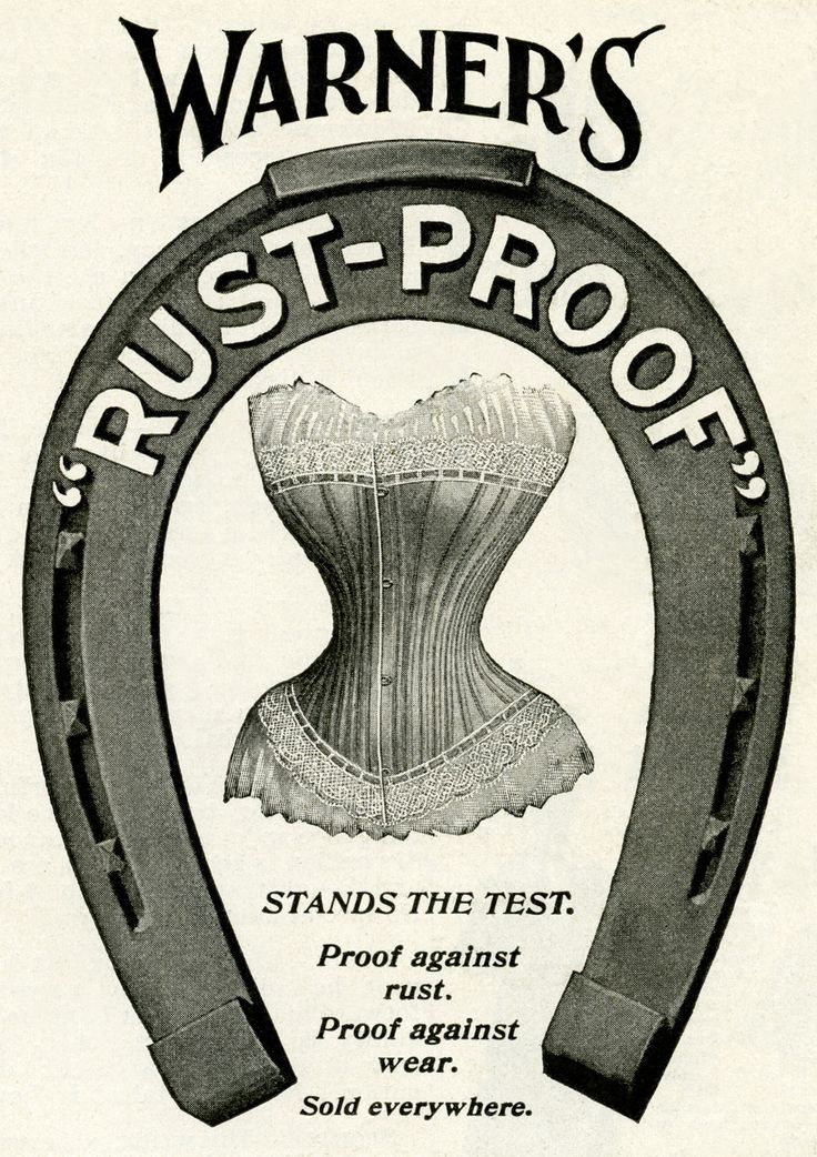 Warner's Corset 1889