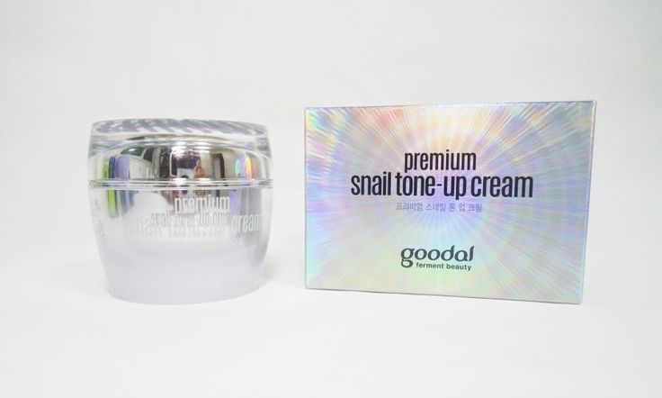 Clio GOODAL Premium Snail Tone-up cream 1.69oz(50ml) Functional whitening  #clubclio