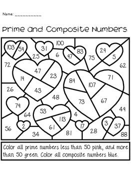 math worksheet : 29 best prime and posite images on pinterest  4th grade math  : Prime And Composite Worksheet