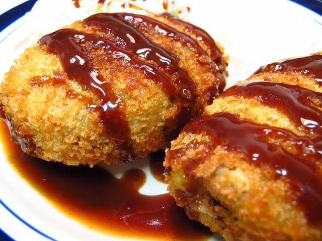 Korokke () - Japanese Beef  Potato Croquettes