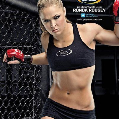 Rhonda Rousey...fitness inspiration   I just want to look half this good!!