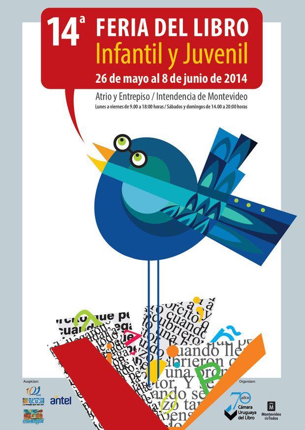 14º Feria del libro Infantil y Juvenil, del 26 de mayo al 8 de junio en Atrio y Entrepiso de la IM.