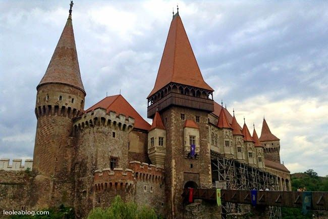 Rumunia - Romania Zamek Hunedoara