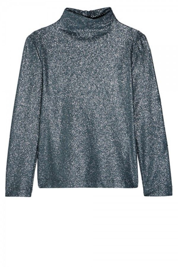 Cedric Charlier Glittered Stretch Jersey Top, £240